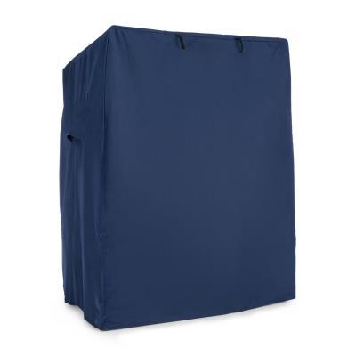 Blumfeldt Protection pour fauteuil cabine de plage - housse étanche 115x160x90 cm – bleu