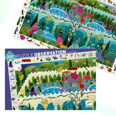 Puzzle Djeco Observation Les 1001 Nuits 200 pcs Enfants 6 ans +