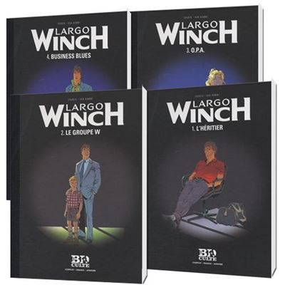 Pack 4 BD LARGO WINCH Tome 1 - 2 - 3 - 4