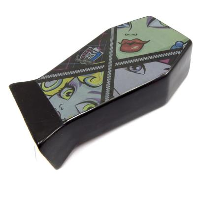 Tirelire cercueil 'Monster High' noir (zip)