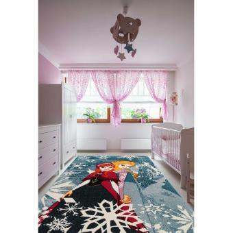 Tapis chambre fille DISNEY PREMIUM FROZEN Tapis Enfants par Unamourdetapis  100 x 150 cm