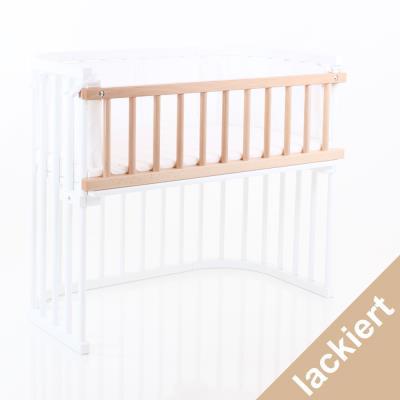 Barriere de securite bois clair lit berceau Cododo Babybay Maxi