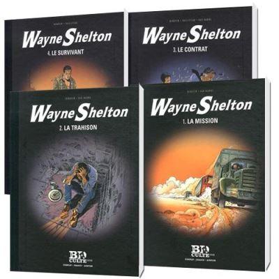 Pack 4 BD WAYNE Tome 1 - 2 - 3 - 4