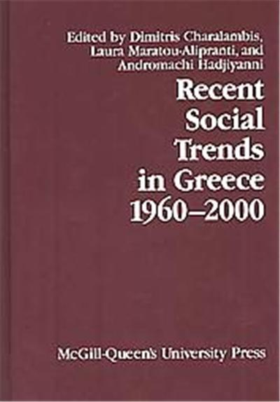 Recent Social Trends in Greece, 1960-2002, Comparative Charting of Social Change, 11