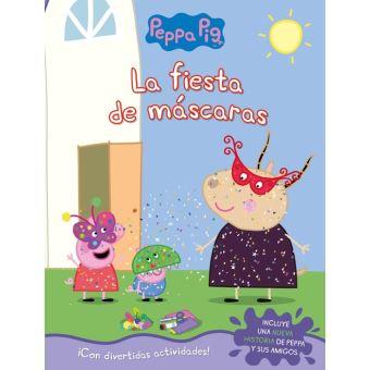 La fiesta de mascaras-peppa pig
