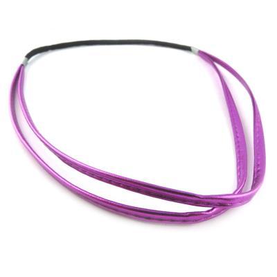 Serre-tête souple 'Simplicité' violet