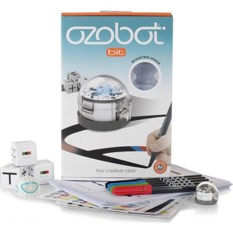 Robot programmable Lilikim Ozobot bit starter pack Blanc