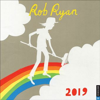 Biathlon 2019 Calendrier.Rob Ryan Calendrier 2019 Carre 30 X 30 Cm Calendrier Et