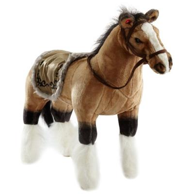 Happy People 58419 Horse with Sound Brown Multi-Color