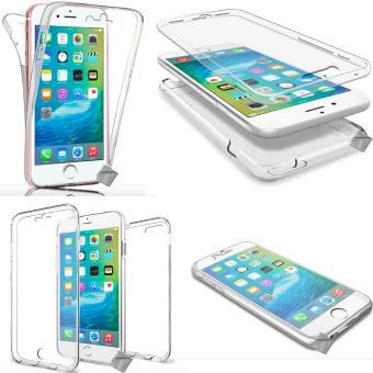 Houe etui coque gel 360 integrale Apple iPhone SE TRANSPARENT