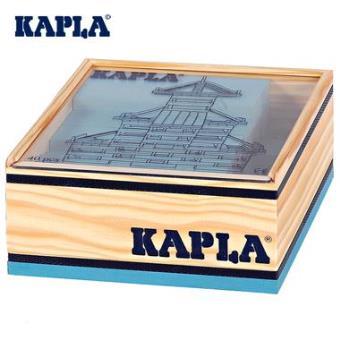Jeu de construction Kapla 40 planchettes boîte carré colorées Enfant 3 ans + - Autres jeux de ...