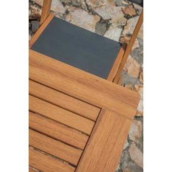 Finlandek Ensemble Table De Jardin Rectangulaire 6 Chaises