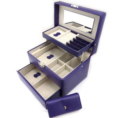 Coffret à Bijoux 'Active Woman' violet