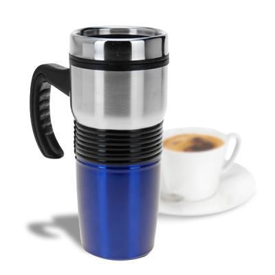 Mug isotherme en inox de 400 ml vert