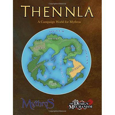 The World of Thennla: A Setting for Mythras - [Livre en VO]