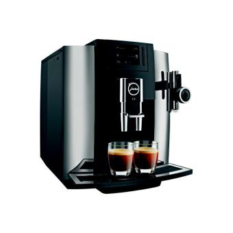 cafeti re expresso avec broyeur jura e8 chrome achat prix fnac. Black Bedroom Furniture Sets. Home Design Ideas