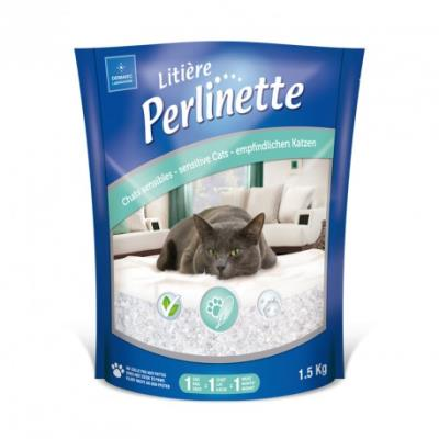 Perlinette - litière pour chats sensibles - 1,5 kg