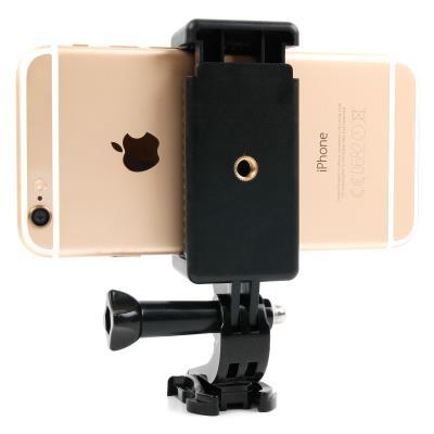 Adaptateur support pour Smartphones à fixer sur accessoires GoPro (harnais, fixations etc.) - Duragadget