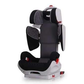 Si/ège Auto Safe Robot IsoFix inclinable Groupe 2,3 : de 3 /à 12 ans syst/ème protection lat/érale Bebe2luxe noir SPS