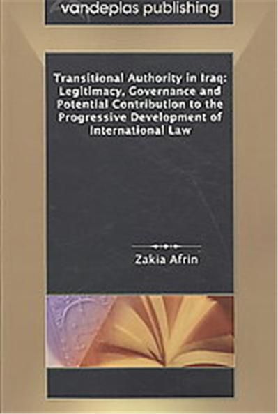 Transitional Authority in Iraq