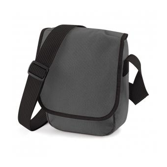 magasin d'usine c21f2 dbb9f Petite sacoche bandoulière Mini reporter bag BG18 - graphite mixte homme /  femme / enfant
