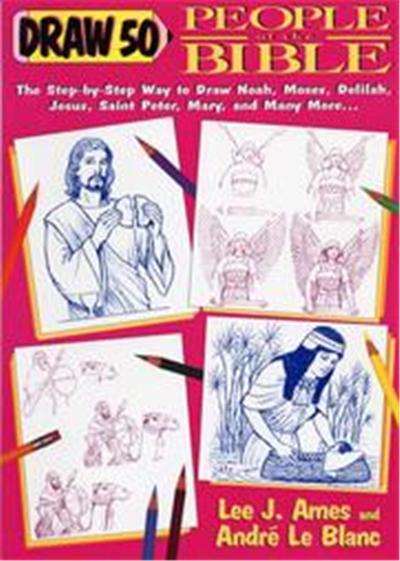 Draw 50 People of the Bible