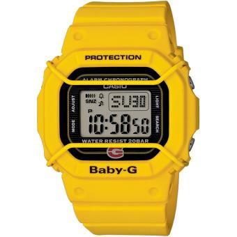 Montre Casio BGD 500 9ER Montre Baby G Protection Jaune  qSVbV