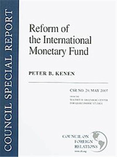 Reform of the International Monetary Fund