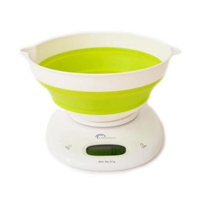 Balance de Cuisine Electronique Blanc/Vert - Bol Up