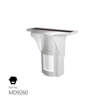 d tecteur de mouvement ext rieur infrarouge sans fil solaire smanos md9260 quipements et. Black Bedroom Furniture Sets. Home Design Ideas