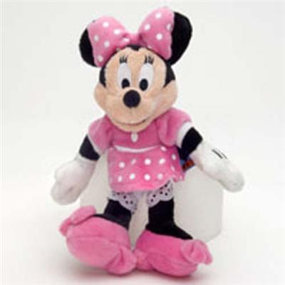 Mickey Mouse - Peluche Minnie dimensions 20 cm