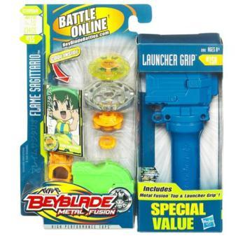 Hasbro beyblade metal fusion flame sagittario - Toupie beyblade sagittario ...