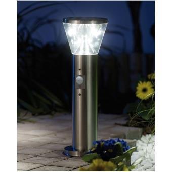 Lampe solaire à LED \'\'Suprême\'\' avec capteur PIR - Achat & prix   fnac