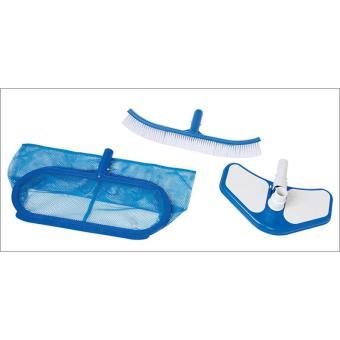 Intex 29057 set de nettoyage deluxe pour piscines hors sol accessoires piscines spa et - Nettoyage piscine hors sol intex ...