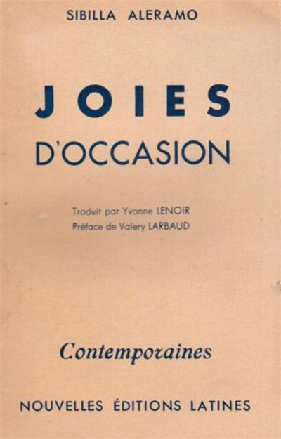 joies d'occasion
