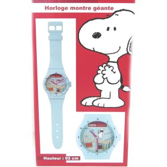 Snoopy M4659 Montre Murale Geante Snoopy Turquoise 92 Cm