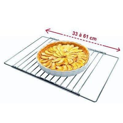 Grille de four universelle extensible de 33 à 61 cm