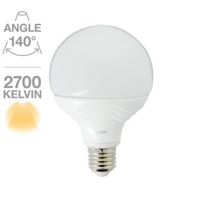 Globe G95 1055 lumens E27 14W équivalent à 75W