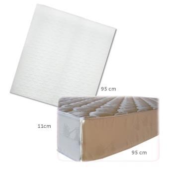 matelas pour lit parc carr 95x95 11cm matelas b b achat prix fnac. Black Bedroom Furniture Sets. Home Design Ideas