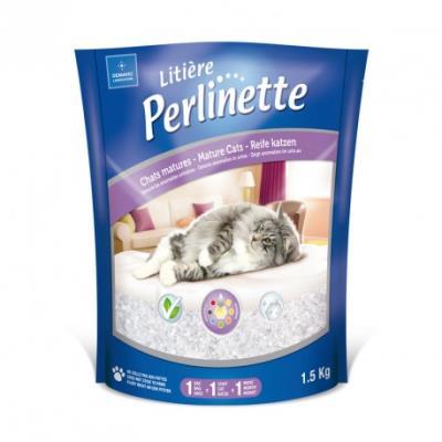 Perlinette - litière pour chats matures - 1,5 kg