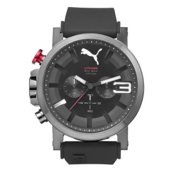 Montre Puma Ultrasize 50 PU103981004 en Silicone Noir
