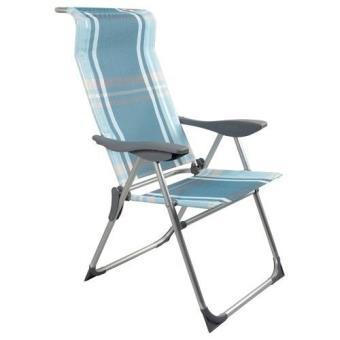 chaise fauteuil de camping jardin ou plage pliable pliante relax en alu exterieur mobilier de jardin achat prix fnac - Relax De Jardin