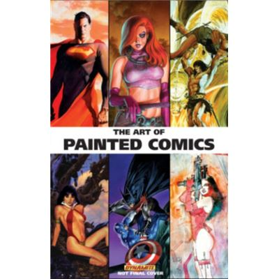 The Art Of Painted Comics (Hardcover)