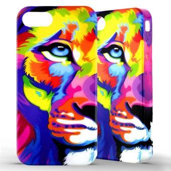 coque iphone 5 silicone lion