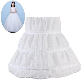 4033e20b3355a Jupon de Robe de cérémonie pour Enfants Crinoline princesse Petticoat de  Filles 2-14 ans