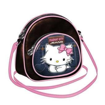 Sanrio Charmmy kitty sac à main jean pocket 74284 cK-ovale rB0nDmyen