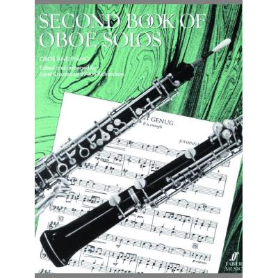 Partitions classique FABER MUSIC CRAXTON J / RICHARDSON A - SECOND BOOK OF OBOE SOLOS - OBOE AND PIANO Hautbois