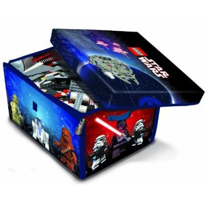 Lego - a1433xx - accessoire jeu de construction - star wars zipbin grand modèle - sac de rangement et tapis de jeu