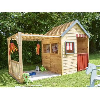 Cabane enfant Margot en bois - Maisons de jardin - Achat & prix   fnac