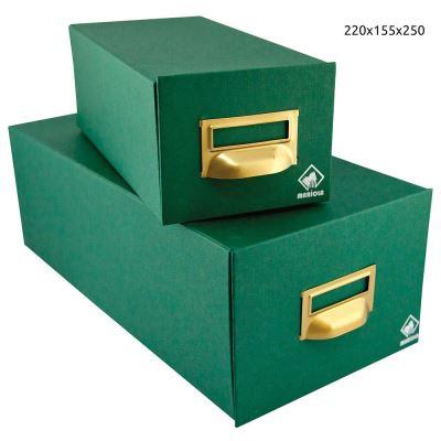 Fichier 500 fiches doublé 220x155x250